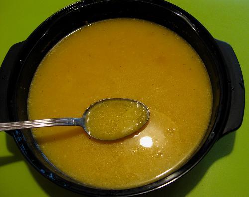 Zupa krem z dyni z kaszką kuskus