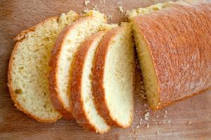 Chleb biały bez wyrabiania