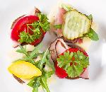 Pumpernikiel z warzywami